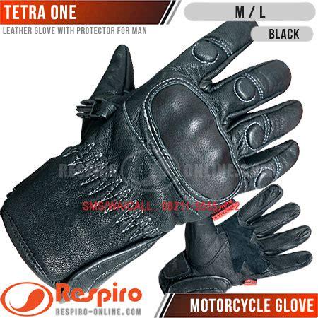Sarung Tangan Kulit Respiro sarung tangan respiro motor kulit glove distrojaketmotor