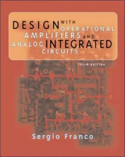 design with operational lifier and analog integrated circuits by sergio franco pdf design book covers 800 849