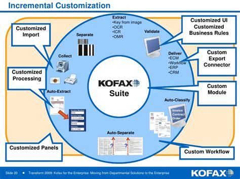 kofax workflow transform 09 kofax for the enterprise moving from