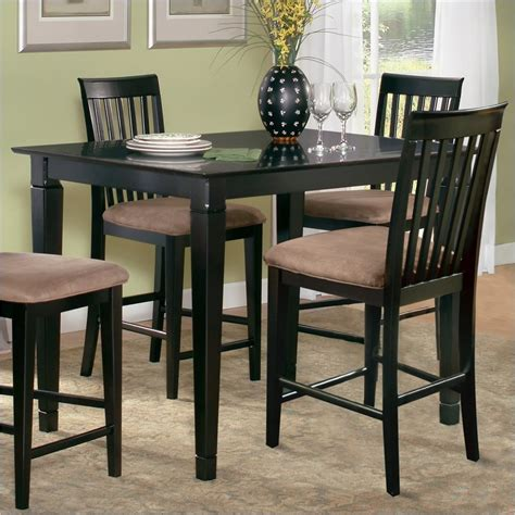 Espresso Bar Table Atlantic Furniture Deco Counter Height Pub Table In Espresso Deco Pt Es