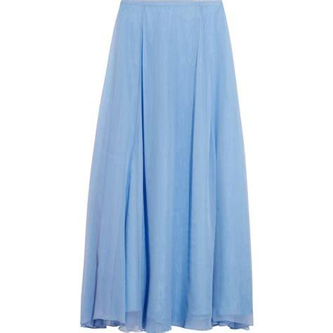 light blue long skirt light blue maxi skirt dress ala