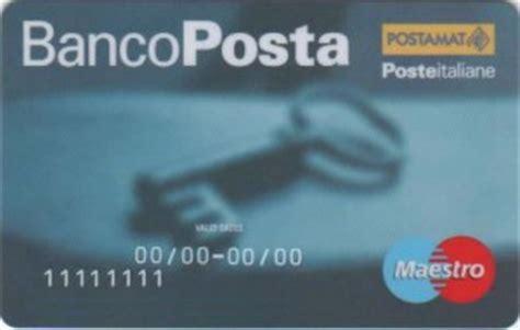 compass banco posta carta di credito bancoposta guida alla scelta