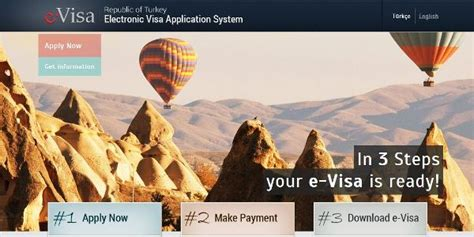 Tr Is Ready For A by E Visa Is Ready To Be Downloaded Rep Of Turkey