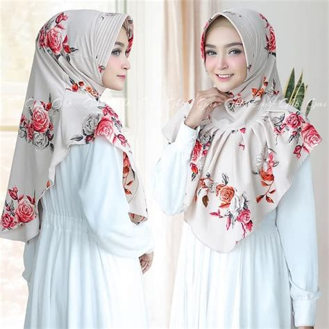 hijab instan bergo ralia model terbaru  cantik trend