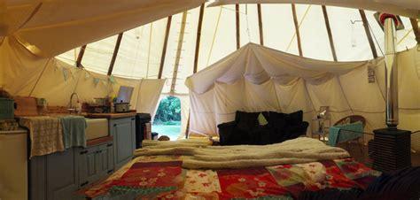 Teepee Interior by Tipi Interior Uk Gling Holidays