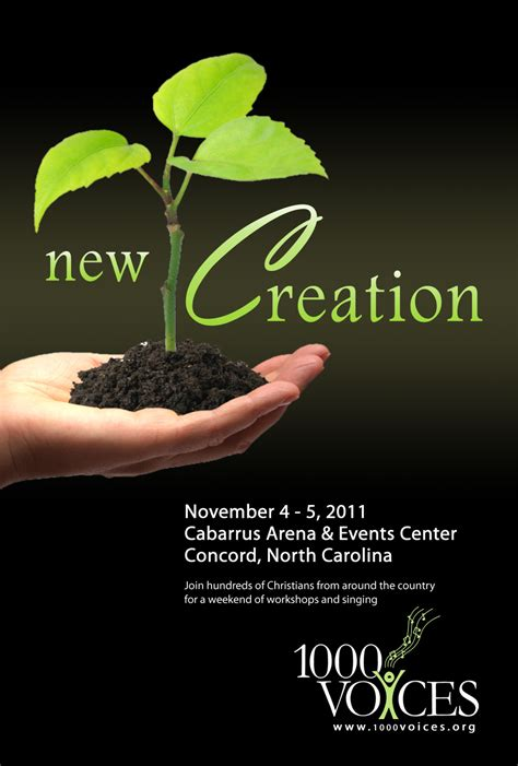 new year creation story 2011 flyer a new creation 1000 voices