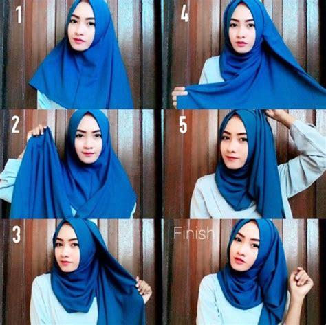 tutorial hijab simple 2017 tutorial hijab terbaru 2017 agar terlihat lebih cantik