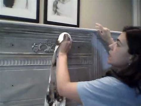 how to get wax out of couch waxing furniture with dark and clear wax over annie sloan