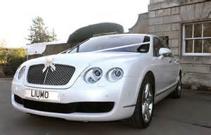 Bentley Wedding Cars White Bentley Continental Wedding Car Hire Cupid Carriages