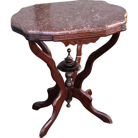 antique marble top table victorian antique victorian parlor marble top table w1498 from