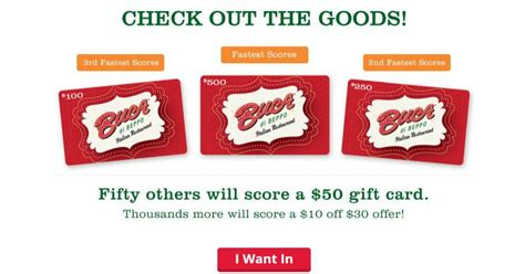 Buca Di Beppo Gift Cards - buca di beppo gift cards are up for grabs mwfreebies