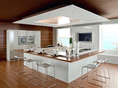 ilot de cuisine avec table amovible ilot central avec table central cuisine co bar cuisine