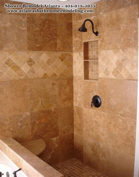 Travertine Tile Bathroom Shower Discover And Save Creative Ideas
