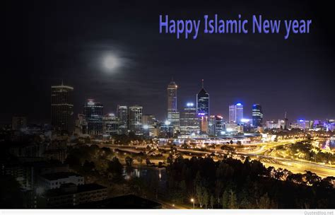 islamic happy  year messages wallpapers