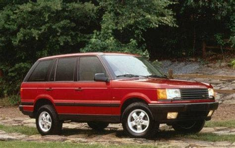 range rover 1999 2000 land rover range rover information and photos