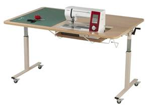 Sewing Machine Cabinets Kangaroo Kabinets Tasmanian Height Adjustable Table At Ken
