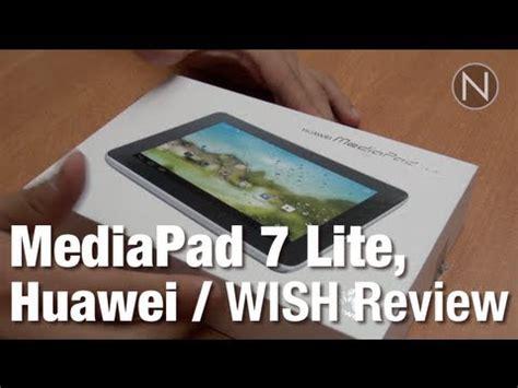 Lu Hannochs 45 Watt tablet para comenzar mediapad 7 lite de huawei wish
