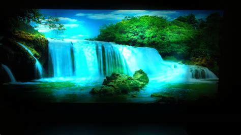 aquarium l fish mirror frame moving picture moving picture in motion mirror framed waterfall picture