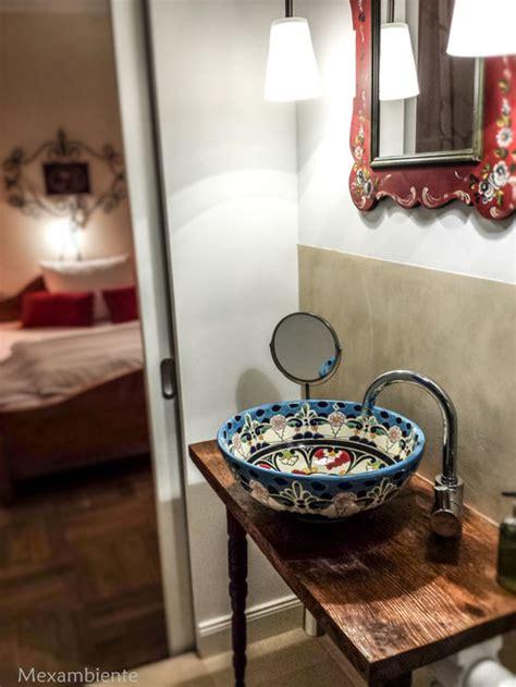 europäisches badezimmer design tulum mex3 mexambiente mexikanische waschbecken bunte