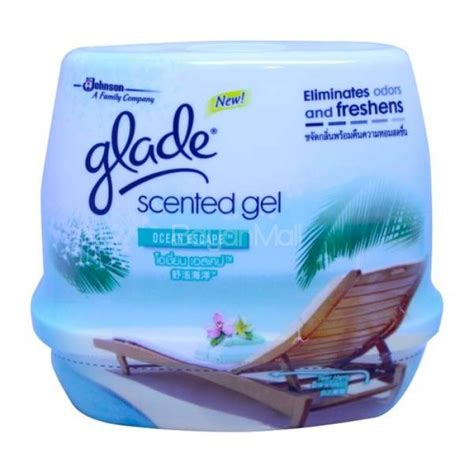 scented gel how to use glade scented gel escape 200g