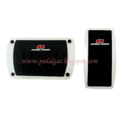 Pelapis Pedal Gas Mugen Manual Matic pedal gas matic new model mugen pwr putih pedal gas mobil
