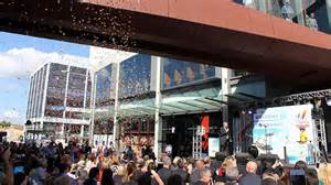thousands turn out for wollongong central opening abc
