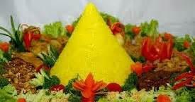 resep nasi kuning buat tumpeng komplit aneka resep