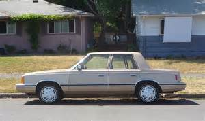 84 Dodge Aries Curbside Classic 1983 Dodge Aries Original K Car The