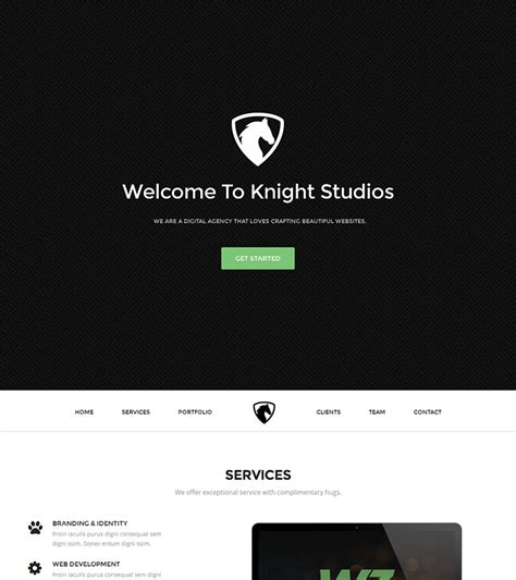 bootstrap themes free pink knight free bootstrap theme bootstraptaste