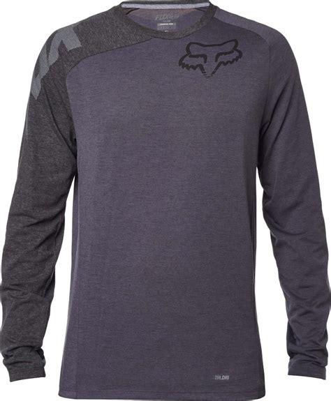 fox motocross t shirts fox racing mens distinguish long sleeve motocross t shirt