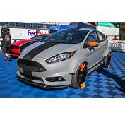 Wilding Out In A Major Way Ford Totes Five Custom Fiestas To Sin City