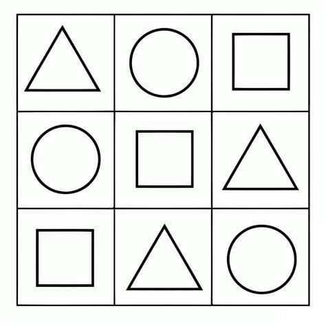 figuras geometricas simples disegni geometrici per bambini da colorare foto mamma