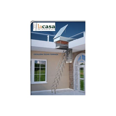 escaleras techo escalera techo salida a terraza acorde 243 n