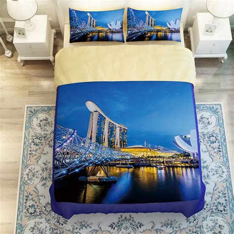 comforter set singapore magnificent city of singapore bedding set ebeddingsets