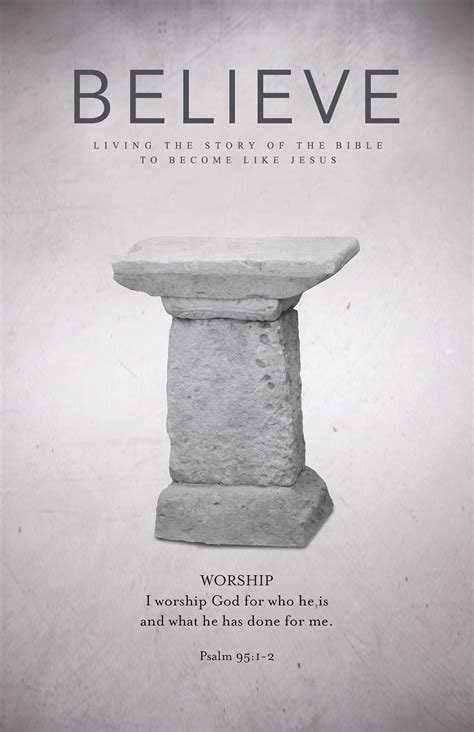 Beautiful Church Bulletin Cover #2: Believe_Bulletin-Cover-Week-11.jpg