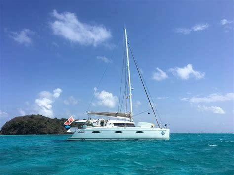 virgin island catamaran charters aoibh crewed catamaran charter virgin islands