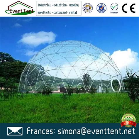 multifunctional recyclable geodesic dome tent container