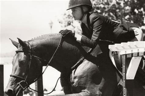 yolanda foster horse riding gigi hadid vogue it