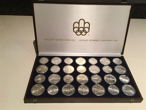 10 Dollar Silver Coin 1976 by Canada 5 And 10 Dollar Coins 1973 1976 Quot Olympic
