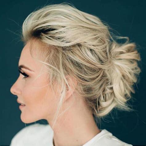 medium length volume updo gorgeous hairstyle makeup beauty pinterest