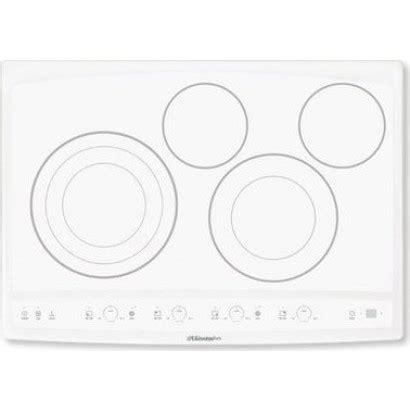 white cooktops ew30ec55gw electrolux 30 quot electric cooktop white