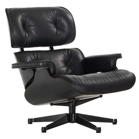 Sessel Lounge Chair by Vitra Eames Lounge Chair Sessel Schwarz Flinders
