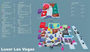 Las Vegas Hotels Map map luxor pictures to pin on pinterest