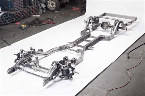 Auto Chassis by A Classsic Car On A Rodded Out Chassis And Suspension