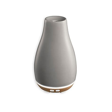 bed bath and beyond diffuser buy homedics 174 ellia blossom ultrasonic aroma diffuser in grey from bed bath beyond