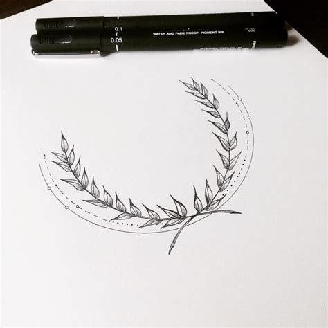 best 25 laurel wreath tattoo ideas on pinterest wreath