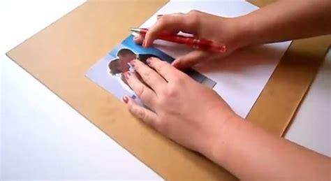 tutorial handmade unik ide membuat bingkai photo yang unik dan kreatif dari