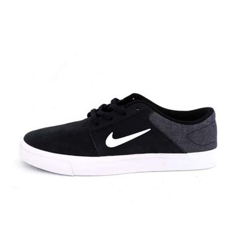 Sepatu Nike Sb Portmore jual sepatu sneakers nike sb portmore black original