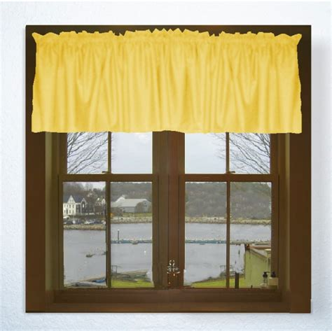 Golden Yellow Curtains Solid Golden Yellow Colored Door Curtain Available In Many Lengths