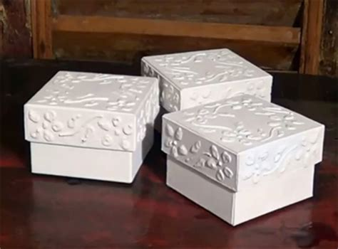 How To Make Decorative Gift Boxes At Home Home Dzine Craft Ideas Recycle Cardboard Into Trinket Boxes